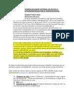 Reglamento Del Régimen Aduanero Especial de Envíos o Paquetes Postales Transportados Por El Servicio Postal
