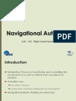 Part 5A - Navigation Autopilot (Longitudinal)
