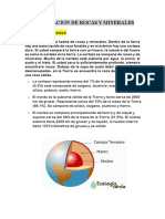 Formacion de Rocas y Minerales Imprimir