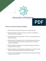 Attenuation of Radiation Vf