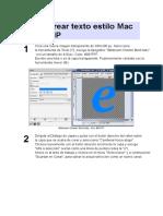 Cómo crear texto estilo Mac con GIMP.docx