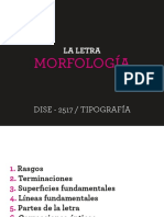 Morfología Estructura de La Letra