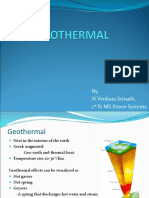 Geothermal in India
