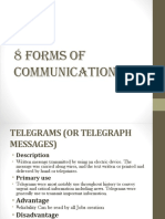 8 Forms of Communication 2