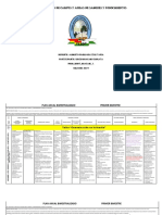 Articulación de Campos y Áreas de Saberes y Conocimiento12