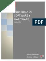 trabajo auditoria de sistemas