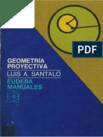 Santalo Geometria Proyectiva
