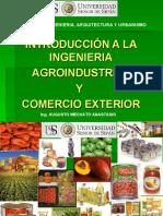 Introducción a la Ingeniería Agroindustrial y Comercio Exterior