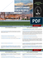 Plan de Desarrollo Urbano Cusco 1