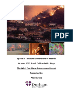 The Witch Fire Hazard Assessment Report
