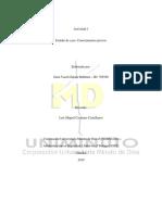 (1) Plan de Prevención y Control de Patologías de Origen Laboral