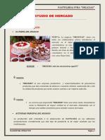 Estudio de Mercado Pasteleria