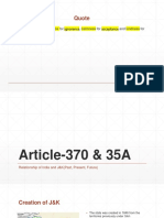 Article-370 & 35A