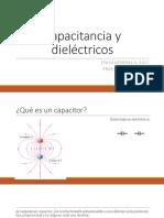 Capacitancia y Dieléctricos