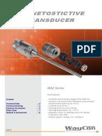 Magnetostrictive Transducer MAZ