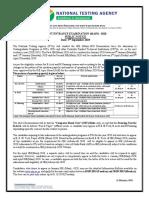NTA 2019 Guidelines