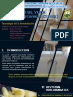 Destilado de Yuca