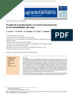 Hagert 2015 El Papel de La Propiocepci n y El Control Neuromuscular
