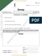 Question_paper-essay Test Series 2018_ Test 6