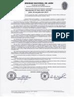 Bases Del Concurso Nombramiento Segunda Convocatoria - 2019