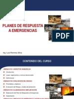 PLANES DE RESPUESTA A EMERGENCIAS
