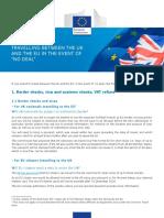 Factsheet 1 Travelling in No deal case