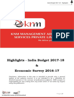 Knm Budget Highlights 2017