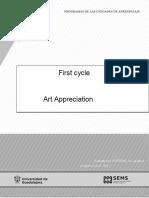 Programa de Apreciación Del Arte Universidad de Guadalajara