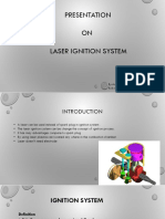 Aditya Shukla Laser Inginition System