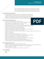 Digital Electronics Course Resume