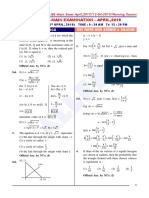 JEE Main Maths-Paper-With-Solutions-April 12 Morning