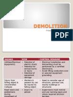 Demolition Xxx