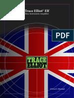 Trace Elliot ELF Manual