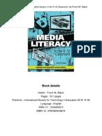 Media Literacy in the K-12 Classroom by Frank W. Baker.pdf