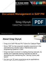 Document Management in SAP PM 12b