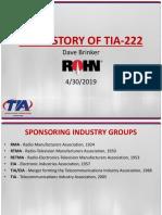 history of tia 222