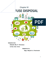 Sanitary Engineering Refuse Disposal