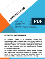 Adverbs Clause