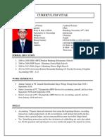 Curriculum Vitae_andrian Pratama