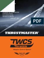 TWCS Throttle Manual All