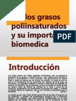 Ácidos Grasos Poliinsaturados Y Su Importancia Biomedica Grupo2