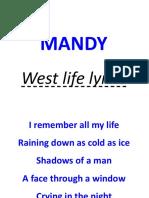 Westlife(lyrics)