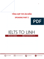 Tips Speaking Part 2 - Ielts Tố Linh