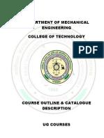 Course Outline(U.G.courses)2016