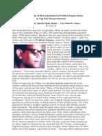 A Brief Biography of Shri Anandamurti or P R Sarkar