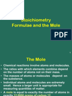 Stoichiometry- Mole Concepts