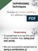 paraphrasing-techniques.ppt