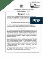 Decreto 1532 Del 26 de Agosto de 2019