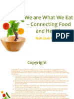 We Are What We Eat Connecting Food and Health PPT