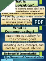 Porposive Communication